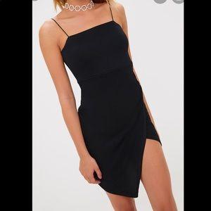 Wrap detail body on dress